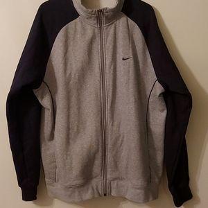 Nike Men zip up sweater